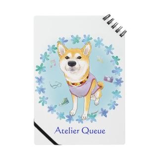 柴犬Ⅳ(花輪・青) Notes