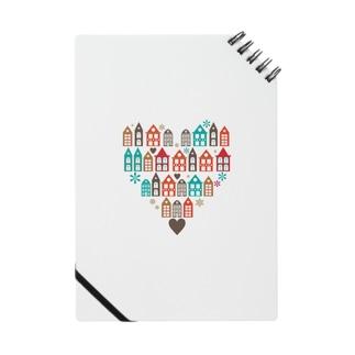 ハートの街並 Notebook