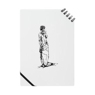 半裸の男性 Notes