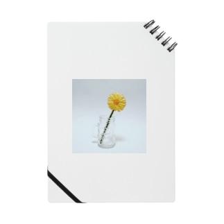 刺繍で作った黄色いお花 Notes