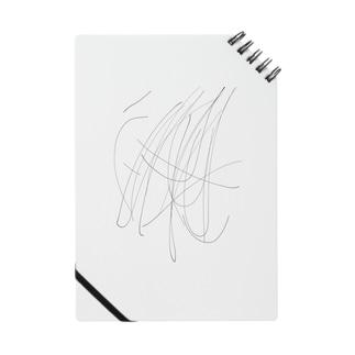 落書きのように見えるが Notes