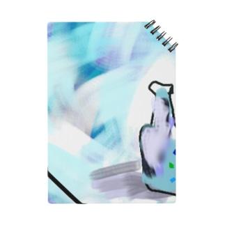 涼しげなガラス瓶 Notes