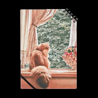 こべびちゃんのお店の窓辺の猫こべびちゃん  Notes