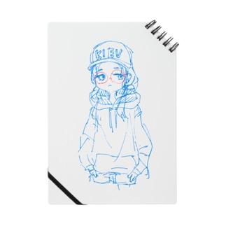 丸メガネchanラフ Notes