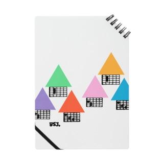 【ギター】住宅地・コードダイアグラムハウス Notes