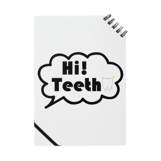 Hi,teethオリジナルグッズ(歯,デンタルグッズ) Notes