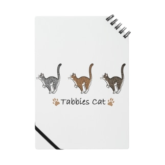 Tabbies Cat(マッカレル) Notebook