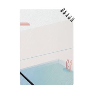 雨の日のプール Notes