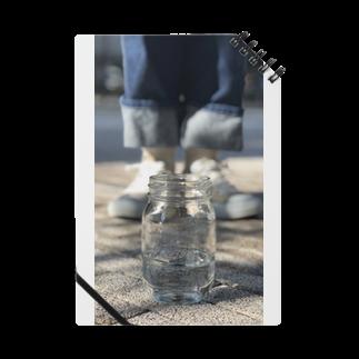 monutoonのガラス瓶 Notes