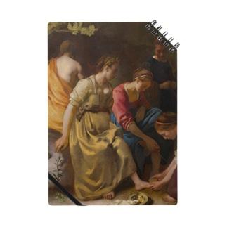 ディアナとニンフたち / フェルメール(Diana and her Companions 1654) Notes