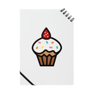 イチゴのカップケーキ Notes