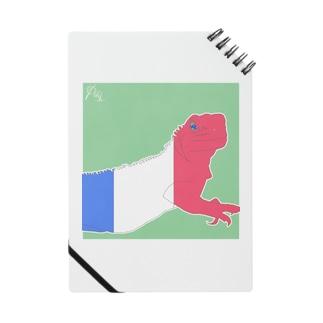 国旗イグアナ トリコロール [ #イキモノノタグイ ] Notes