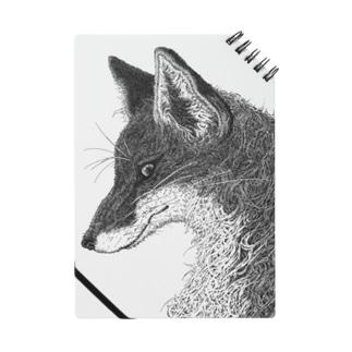 狐の頭部 Notes