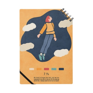 【2019.07.14】新井リオの英語日記グッズ Notes