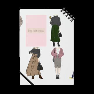 Megumi7のA one week fashion  Notes