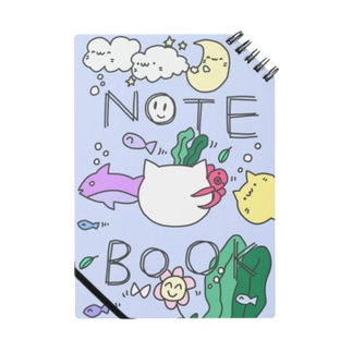 海の幸たっぷりノート Notes