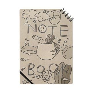 海の幸たっぷりノート(レトロver.) Notes