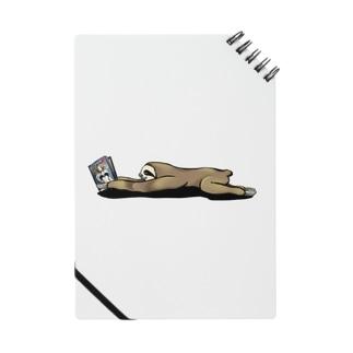 本と、なまけもの Notebook