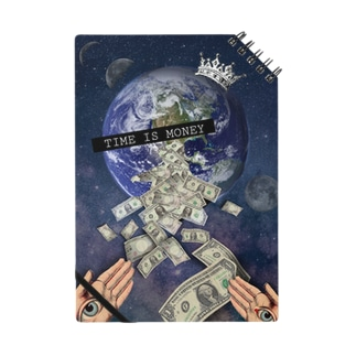 TIME IS MONEY// NOTEBOOK Notes