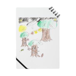 夏の夜の森 Notes
