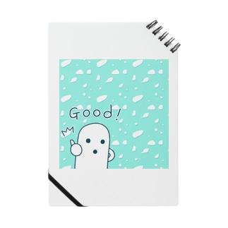 白いハニワ【Good!】 Notes
