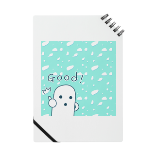 陽崎杜萌子@LINEスタンプ販売中の白いハニワ【Good!】 Notes