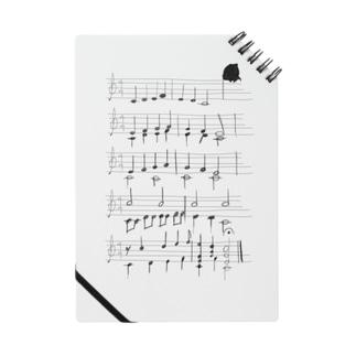 カエルの歌(手書き) Notes