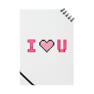 みんなのお名前でつくる I♡U  Notes