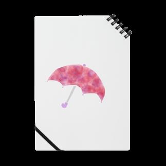 かな工房のあじさい色の傘 Notes