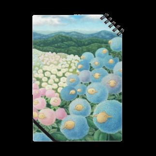 ひつじ好きの未草のギャラリーの紫陽花ひつじ Notes