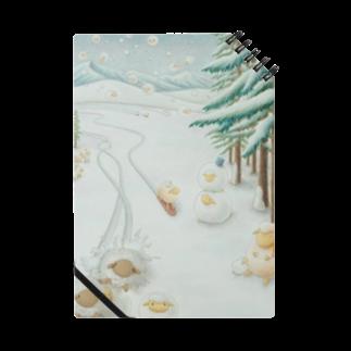 ひつじ好きの未草のギャラリーの羊雪季節 Notes