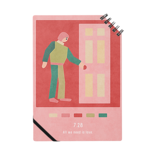 新井リオの【2019.07.28】新井リオの英語日記グッズ Notes
