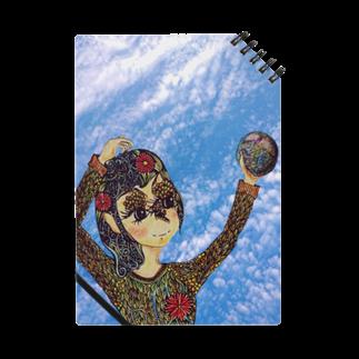 アトリエ葱の地球は私の手の中に(青空) Notes