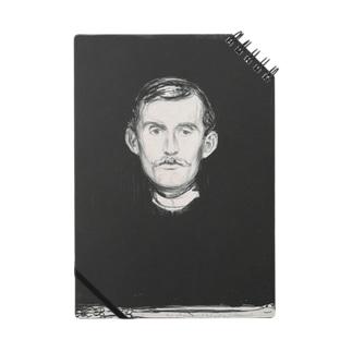 ムンク / 1896 / Self-Portrait I / Edvard Munch Notes