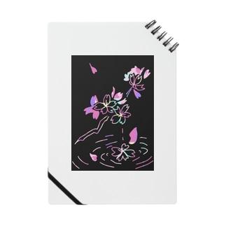 桜×スクラッチアート風 Notes