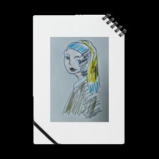 ✈オノウエ コウキの青いターバンの女? Notes