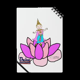 uwotomoの【THAILAND】蓮と踊り子 Notes