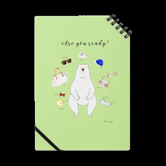 tsumuguyaのシロクマさんお出かけ準備 Notes