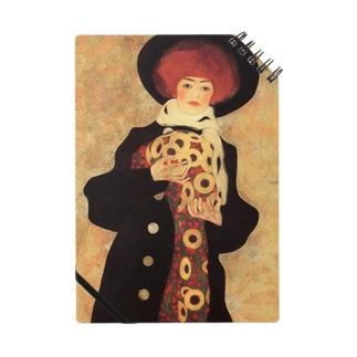 エゴン・シーレ / 1909 / Woman with Black Hat / Egon Schiele Notes