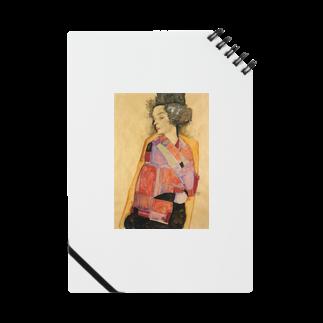 Art Baseのエゴン・シーレ / 1911 / The Daydreamer (Gerti Schiele) / Egon Schiele Notes