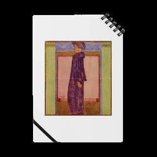 Art Baseのエゴン・シーレ / 1908 /Standing Woman / Egon Schiel Notes
