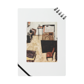 Art Baseのエゴン・シーレ / 1911 /Schiele's Room in Neulengbach / Egon Schiele Notes