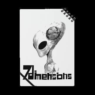 7dimensionsのmonochrome alien Notes