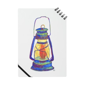 あたりを照らすランプ ノート