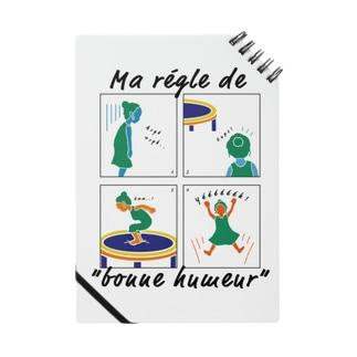 """Ma regle de """"bonne humeur"""" Notes"""