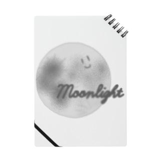 顔つき月【モノクロ】 Notes