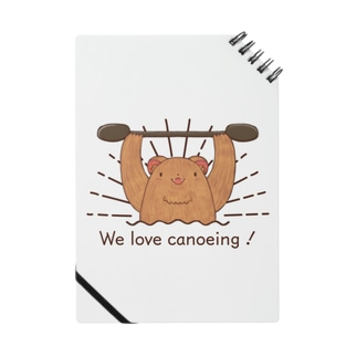 We love canoeing ! Notes