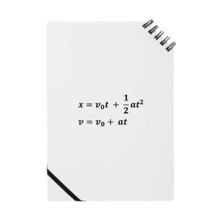 理系、技術系、エンジニアショップの物理学方程式シリーズ Notes
