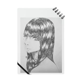 黒髪の女の子 Notes