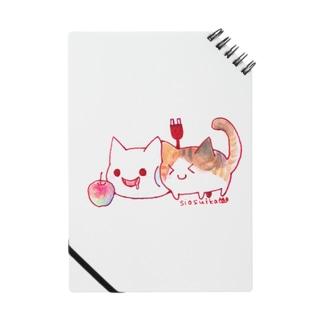 ねこさんと三毛猫とリンゴ Notes